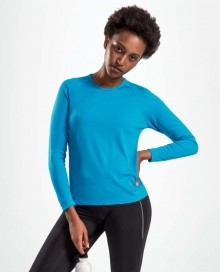 WOMENS LONG-SLEEVE SPORTS T-SHIRT SPORTY 02072 05.SL.1.L93