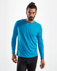 MENS LONG-SLEEVE SPORTS T-SHIRT SPORTY 02071 05.SL.2.L92