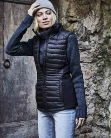 LADIES CROSSOVER BODYWARMER 9625 06.TJ.1.K79