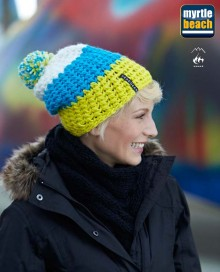 CROCHETED CAP WITH POMPON MB7940 10.MB.4.F12