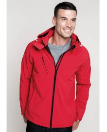 MEN'S HOODED SOFTSHELL JACKET K413 02.KA.2.M36