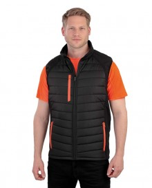 BLACK COMPASS PADDED SOFTSHELL GILET R238X 06.RE.4.M23