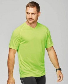 MEN'S V-NECK SHORT-SLEEVED SPORTS T-SHIRT PA476 05.KA.2.N43