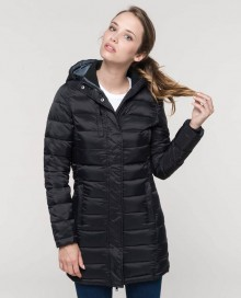LADIES' LIGHTWEIGHT HOODED PARKA 01.KA.1.O13