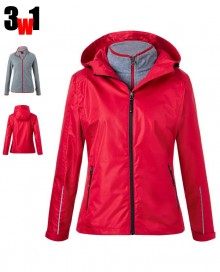 LADIES´ 3-IN-1-JACKET JN1153 08.JN.1.O33