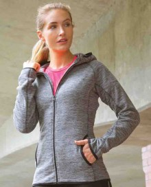 WOMEN`S MICROFLEECE HOODI S245F 23.SP.1.O72