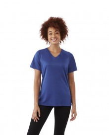 AMERY V-NECK LADIES T-SHIRT COOL FIT 39026 05.EL.1.P11
