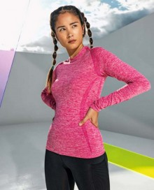 WOMEN'S SEAMLESS '3D FIT' MULTI-SPORT PERFORMANCE LONG SLEEVE TOP TR203 05.TD.1.P60