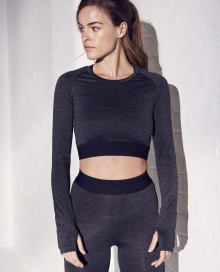 GIRLIE LONG SLEEVE CROP T JC039 14.AW.1.P41