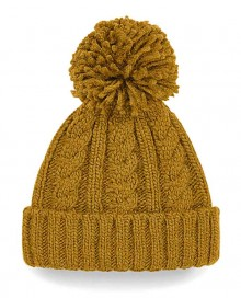 CABLE KNIT MELANGE BEANIE B480 10.BF.4.N95