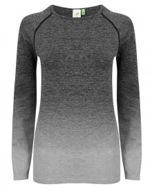 LADIES` SEAMLESS FADE OUT LONG SLEEVED TOP TL304 05.TO.1.P19