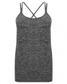 LADIES` SEAMLESS STRAPPY VEST TL303 14.TO.1.P17