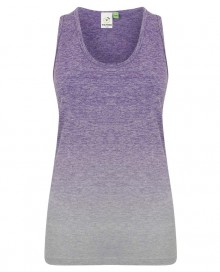 LADIES` SEAMLESS FADE OUT VEST TL302 14.TO.1.P20